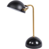 black marble base desk table lamp design essentials
