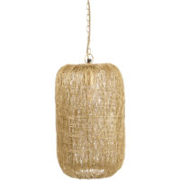 woven nest gold pendant light design essentials
