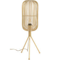 gold tall tripod table lamp design essentials
