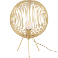 gold globe table lamp design essentials