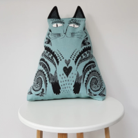Blue_Cat_Cat_Cushion_Design_Essentials_Saffron_Walden