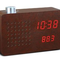 radio click clock gingko deign essentials saffron walden
