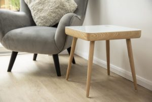 Carl Smart Side Table Koble Design Essentials