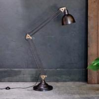 Design Essentials, Saffron Walden, Interior Design, Sho Local, Standing Lamp, Nkuku, Industrial, Black Lamp