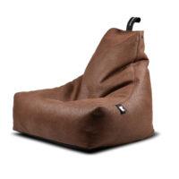 Chesnut, Leather, beanbags, extreme lounging, Design Essentials, Saffron Walden