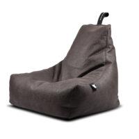 Slate, Leather, beanbags, extreme lounging, Design Essentials, Saffron Walden