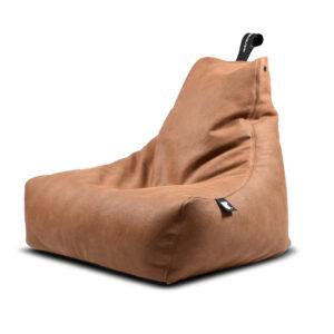 Tan, Leather, beanbags, extreme lounging, Design Essentials, Saffron Walden