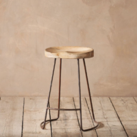 Design Essentials, Saffron Walden, Interior Design, bar stool, Nkuku, Rustic