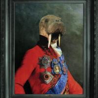 Canvas, regal, Saffron walden, quirky, artwork, animal