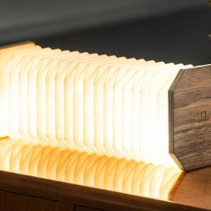 Design Essentials, Saffron Walden, Interior Design, Local Business, Accordion lamp, walnut