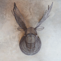 Design Essentials, Saffron Walden, Interior Design, Wire head, Animal, Sculpture, Nkuku