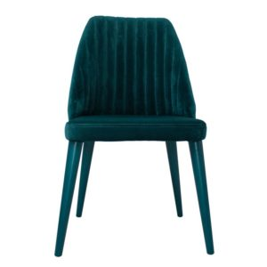 high back velvet chair green front design essentials