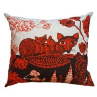 Fox Cushion Lush Designs Design Essentials Saffron Walden