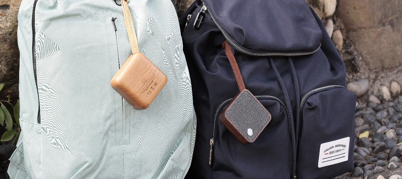 MI SQUARE Pocket Speaker Design Essentials Gingko
