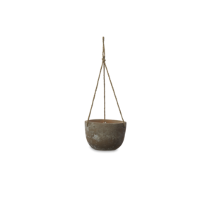 Nkuku Clay Hanging Pot Large Design Essentials