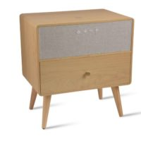 Natural Wood Ralph Smart Side Table Koble Design Essentials
