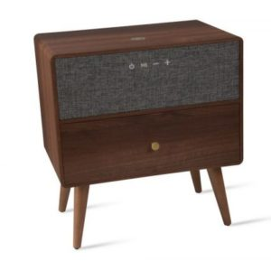 Walnut Ralph Smart Side Table Koble Design Essentials