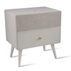 White Ralph Smart Side Table Koble Design Essentials