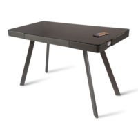 Silas Smart Desk Charcoal Grey Koble Design Essentials