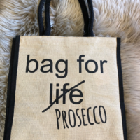 bag for prosecco design essentials