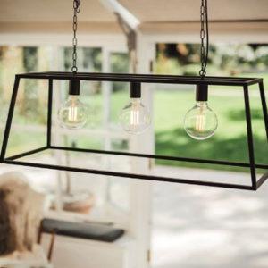 black vienna triple trapeze light culinary concepts design essentials