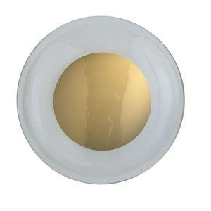 Clear Gold Horizon Ceiling Wall Lampshade Ebb & Flow Design Essentials