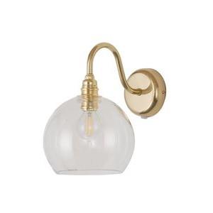 Clear Gold Rowan Wall Lamp Design Essentials Ebb & Flow