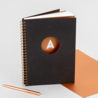Pulp Haus A5 Notebook in Mocha