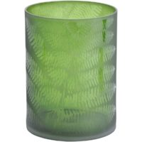 green leaf hurricane vase design essentials