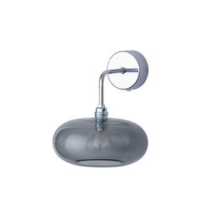 Smokey Grey Horizon Wall Lamp Ebb & Flow Design Essentials