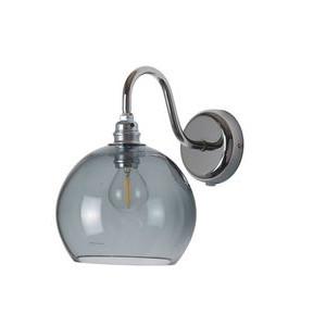 Smokey Grey Rowan Wall Lamp Design Essentials Ebb & Flow