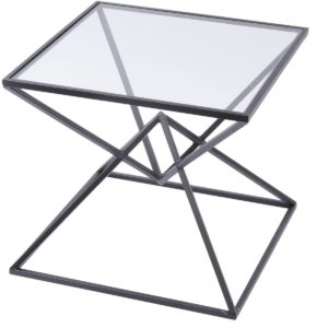 black pyramid side table design essentials