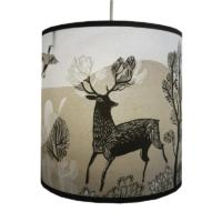 stag lampshade taupe small design essentials lush designs saffron walden