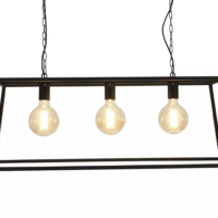 black vienna triple trapeze chandelier pendant culinary concepts design essentials